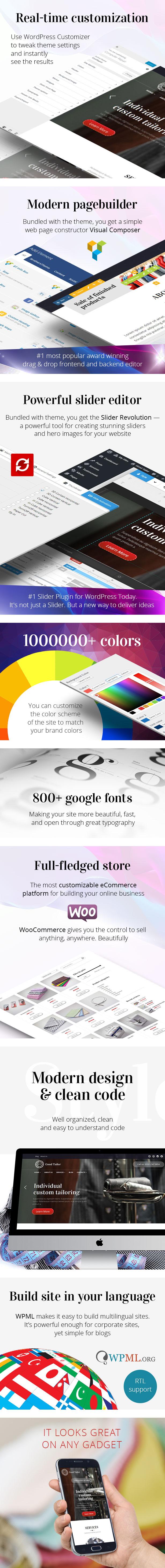 Good Tailor - Fashion & Tailoring Services WordPress Theme - 2