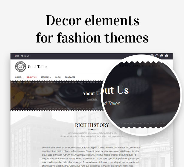 Beautiful design elements